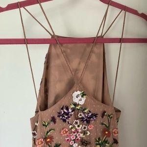 db87f9c7a277 ASOS Dresses | Floral Embroidered Dobby Mesh Cami Maxi Dress | Poshmark